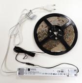 Kit rouleau led flexible 9,6W/m/ 2,5ml - blanc chaud