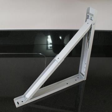 Support de Table Rabattable gris