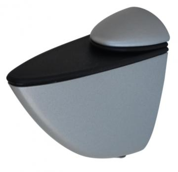 Support tablette de 6 à 40mm Alu mat