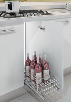 Porte 8 bouteilles amovible
