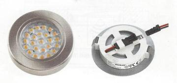 Kit 2 ou 3 spots led 1,7W extra plat