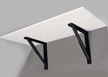 Support de Table Rabattable Noir