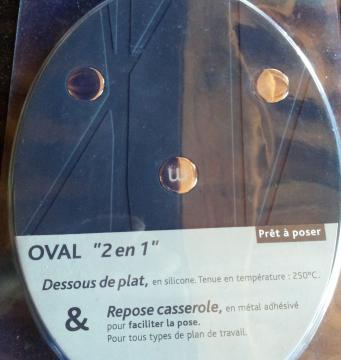 Repose casserole 2 en 1 ovale