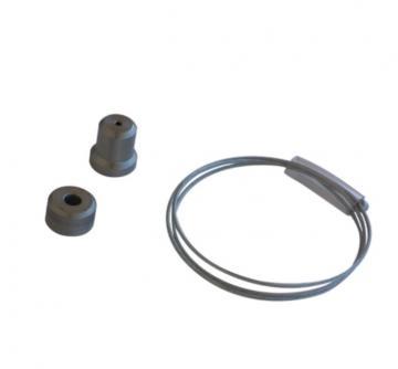 Support baldaquin cable 1mètre redécoupable