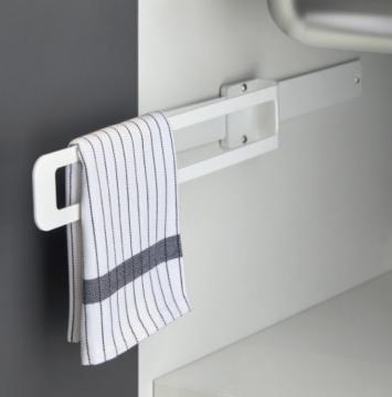 Porte Torchon coulissant blanc mat(2)