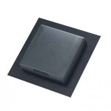Prise simple carré noir