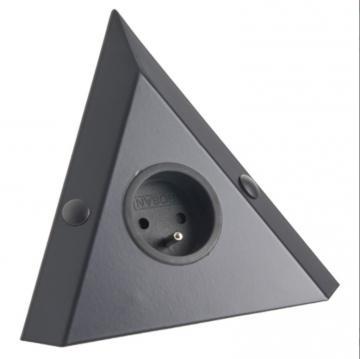 Bloc 1 prise d'angle avec ou sans inter